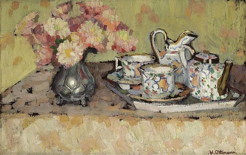 Henri Ottmann - Still Life. Картины с аукционов Sotheby's