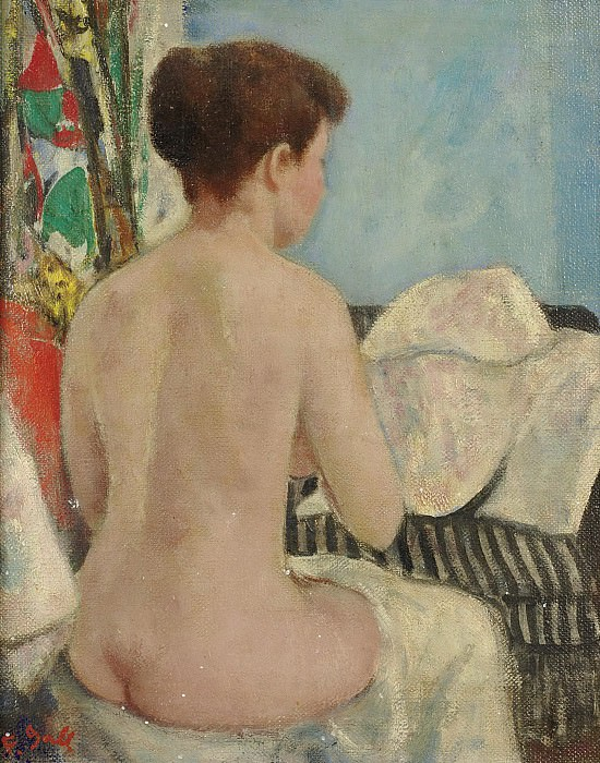 Francois Gall - Eugenie Nude from Back, Studio at Villa Brume, 8b. Sotheby's