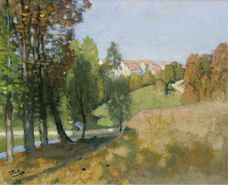 Pierre-Eugene Montezin - Autumn. Sotheby's