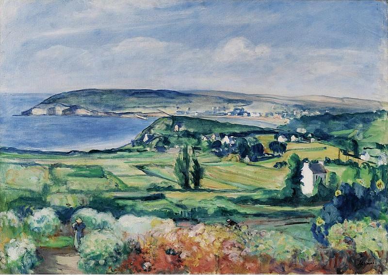 Henri Lebasque - The Plain of Crozon, Finistere, 1923. Sotheby's