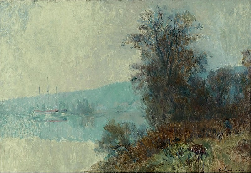 Albert Lebourg - The Banks of the Seine. Sotheby's