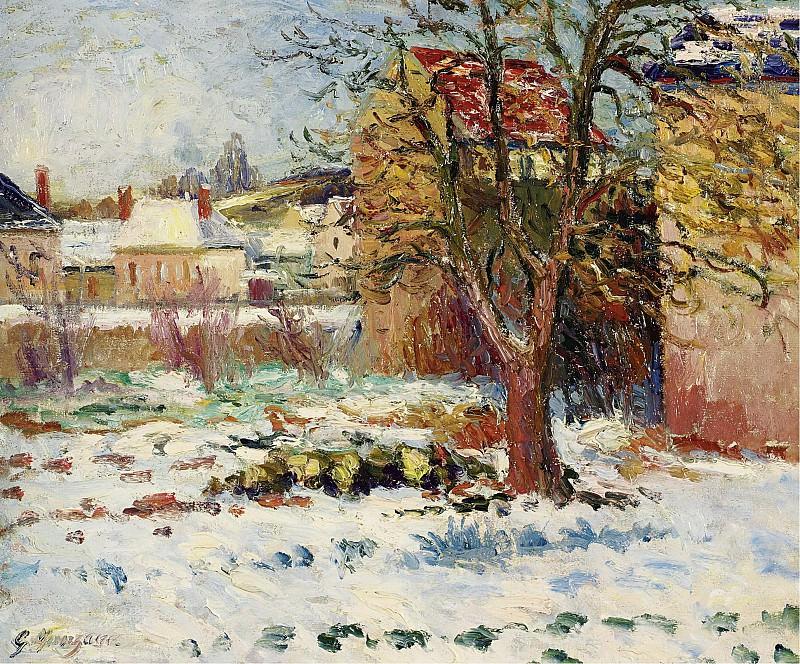 Georges Manzana-Pissarro - Snow Effect, Nezel, 1906. Sotheby's