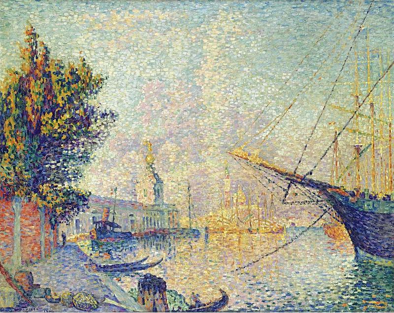 Paul Signac - La Dogana (Venise), 1904. Картины с аукционов Sotheby's