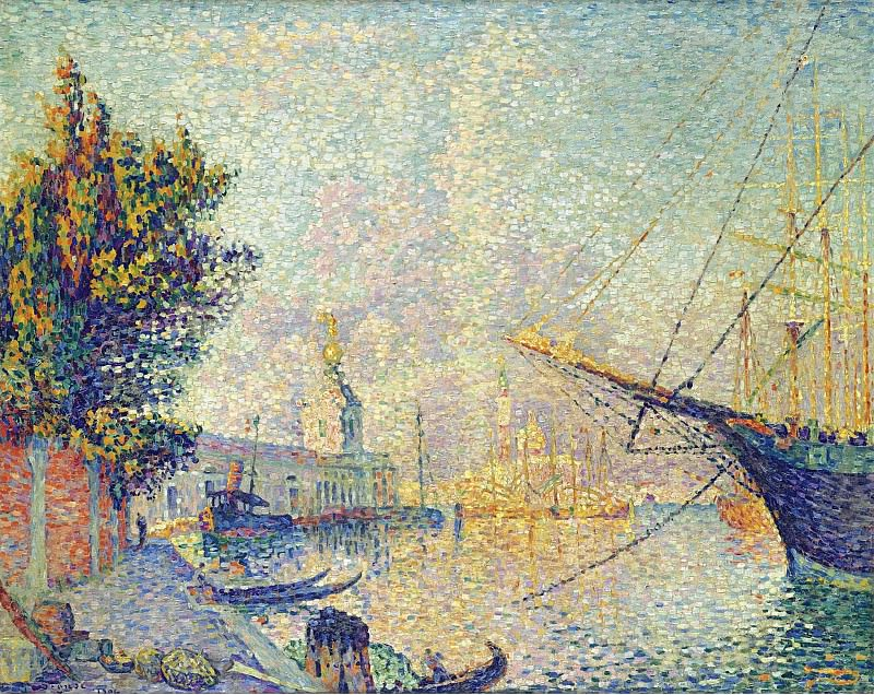 Paul Signac - La Dogana (Venise), 1904. Sotheby's