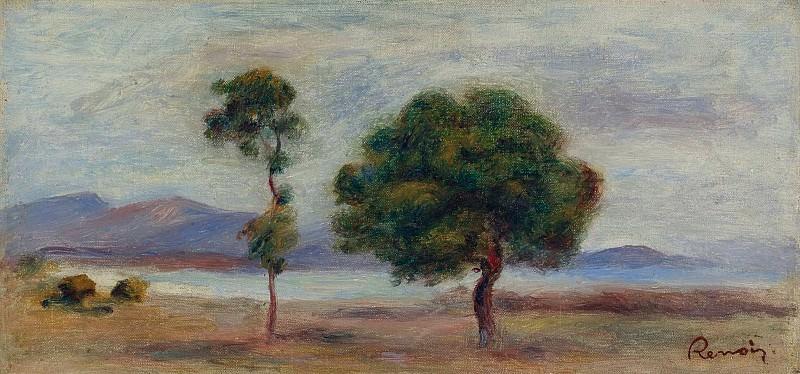 Pierre Auguste Renoir - Landscape, 1905 02. Sotheby's