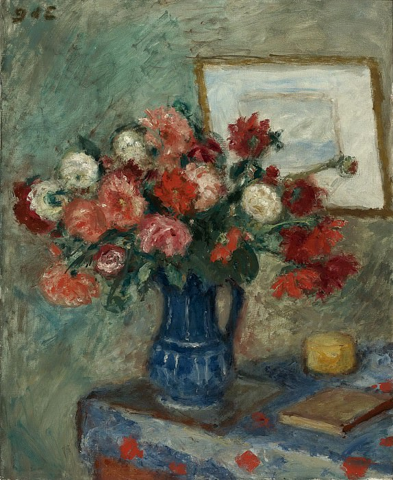 Georges dEspagnat - Vase of Flowers. Sotheby's
