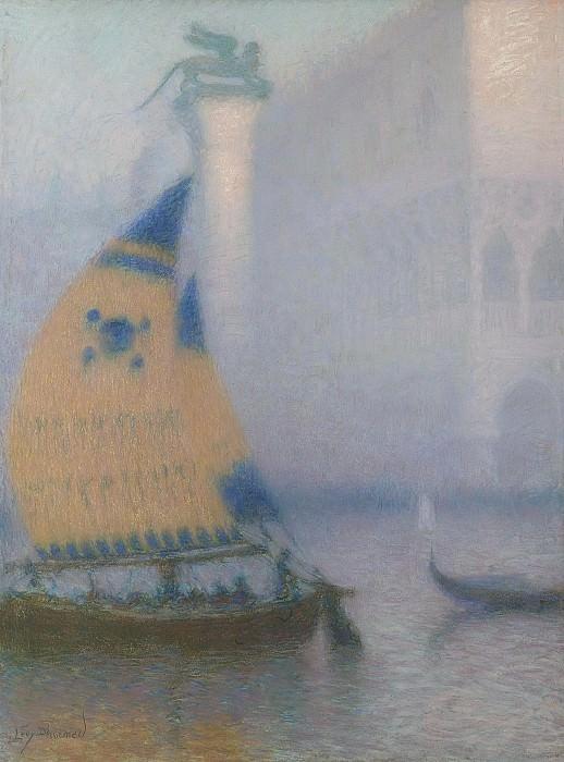 Lucien Levy-Dhurmer - Venice 02. Картины с аукционов Sotheby's