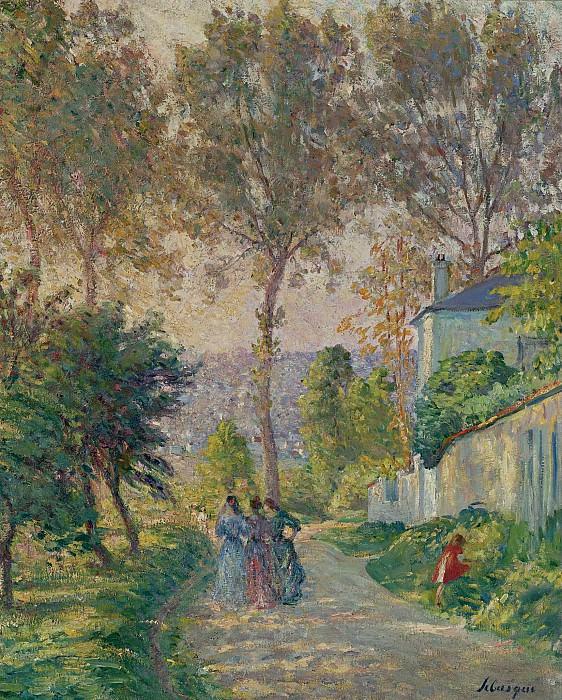 Henri Lebasque - Promenade. Картины с аукционов Sotheby's