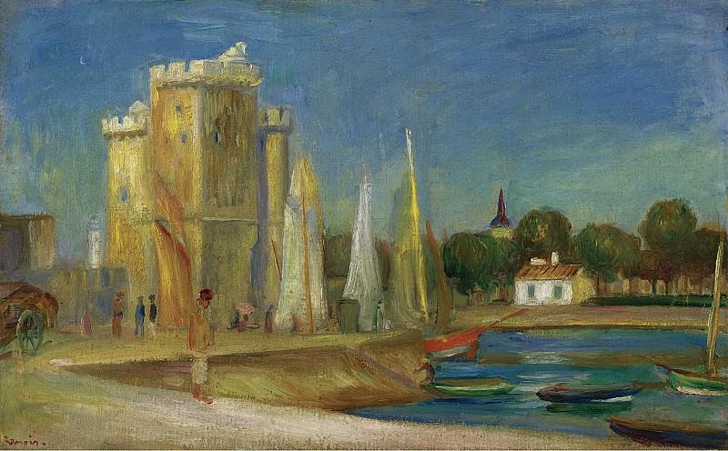 Pierre Auguste Renoir - The Port of La Rochelle, 1896. Sotheby's