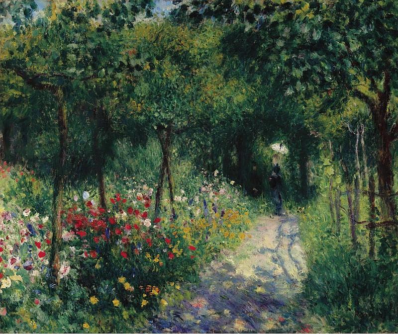 Pierre Auguste Renoir - Women in the Garden, 1873. Sotheby's