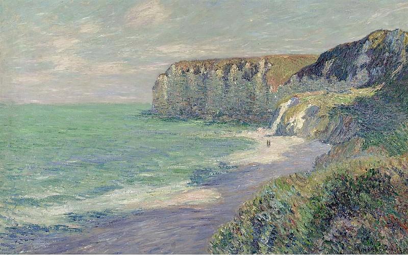 Gustave Loiseau - The Cliffs of Saint-Jouin, 1908 02. Sotheby's