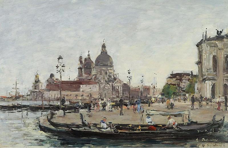 Eugene Boudin - Venice, the Salute, 1895. Sotheby's