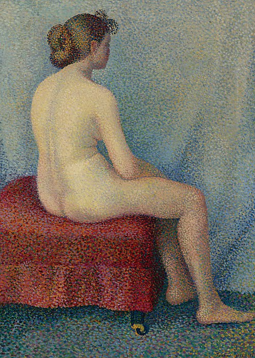 Yvonne Serruys - Young Woman Seated. Sotheby's