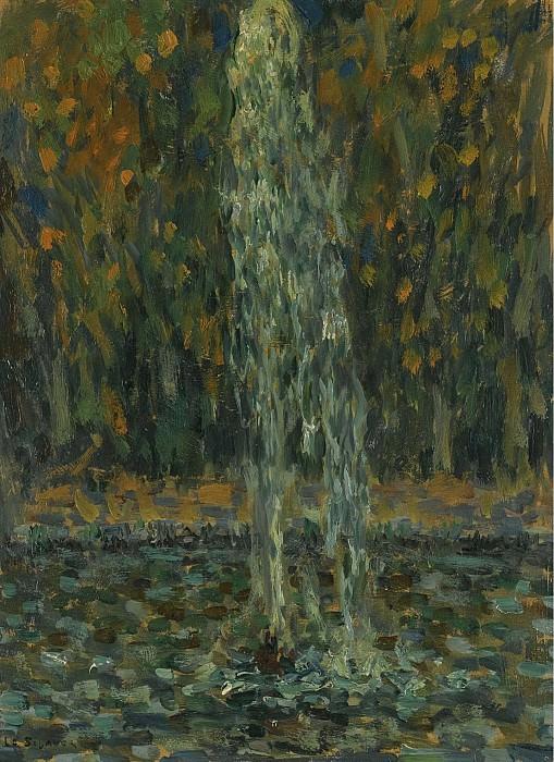 Henri Le Sidaner - Water Jet, 1925. Sotheby's