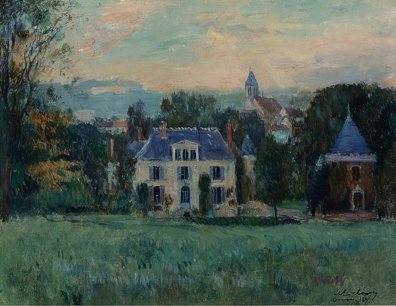 Albert Lebourg - The House of Paulin, 1899. Sotheby's