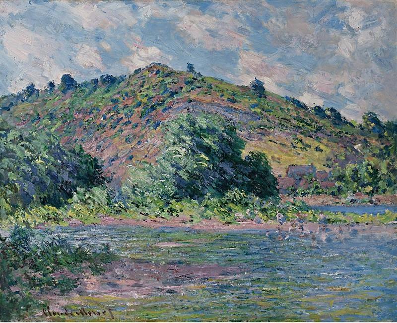 Claude Monet - The Banks of the Seine at Port-Villez, 1885. Sotheby's