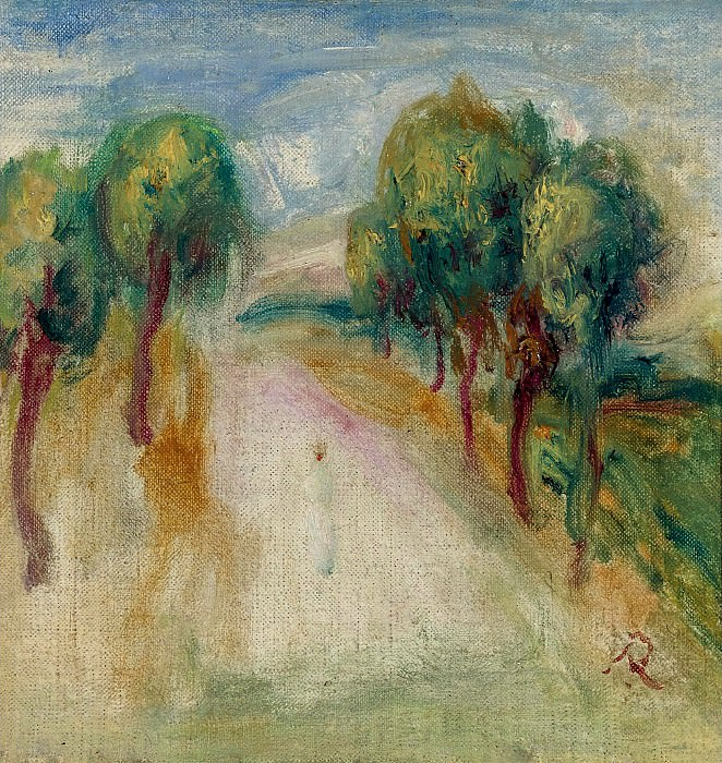 Pierre Auguste Renoir - The Shady Path. Sotheby's