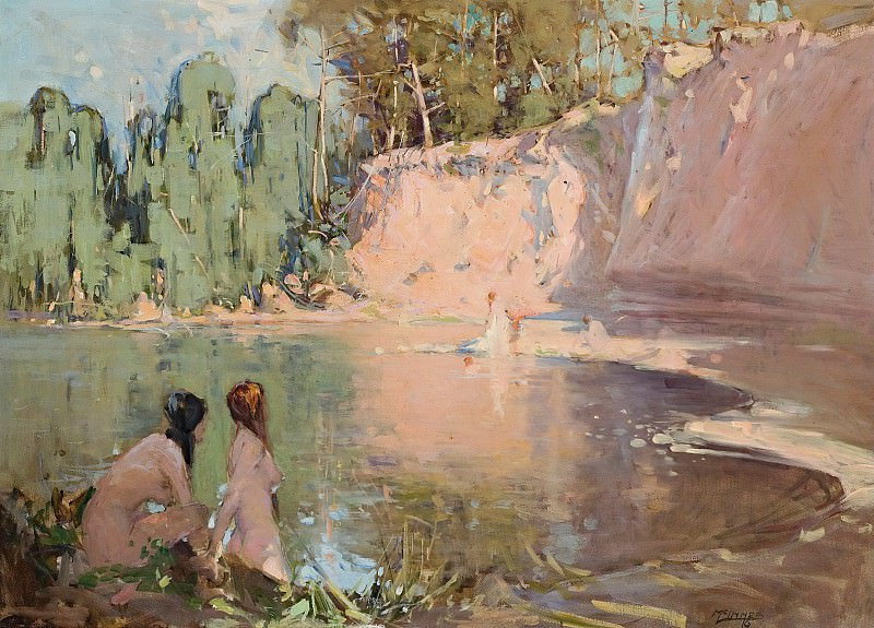 William B. McInnes - The Bathers, 1916. Sotheby's