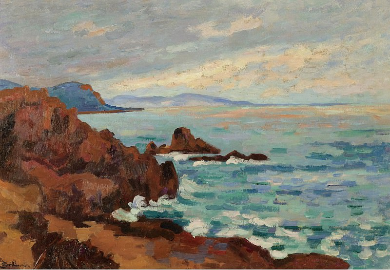 Armand Guillaumin - The West, Trayas-Agay, 1913. Sotheby's