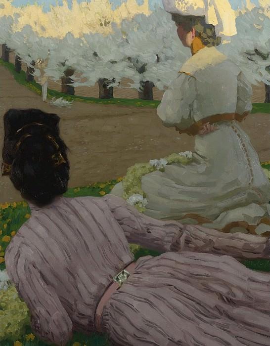 Reinhold Max Eichler - Spring. Картины с аукционов Sotheby's