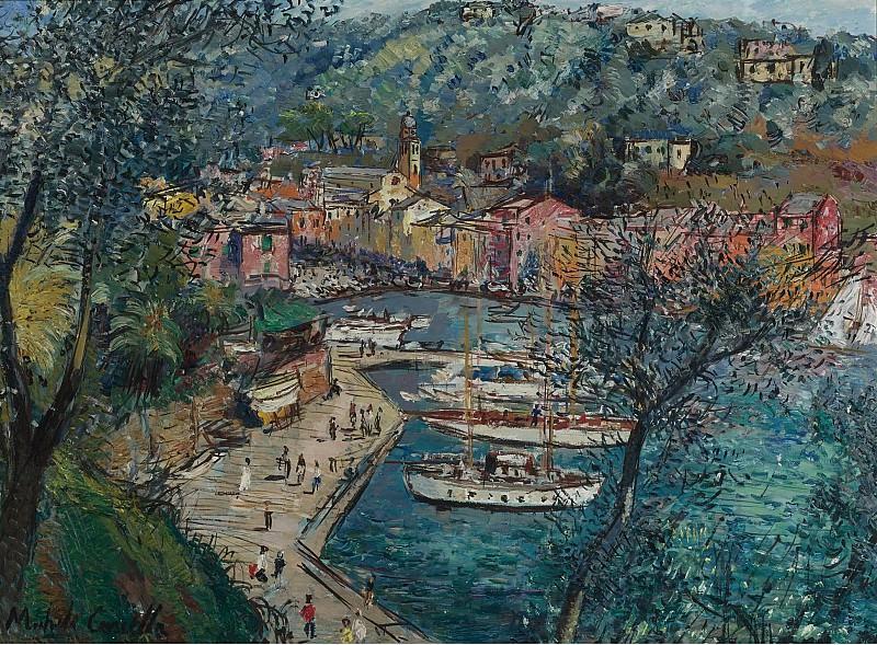 Michele Cascella - Portofino. Sotheby's