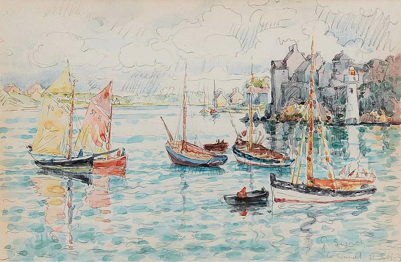 Paul Signac - Le Conquet, 1931. Sotheby's