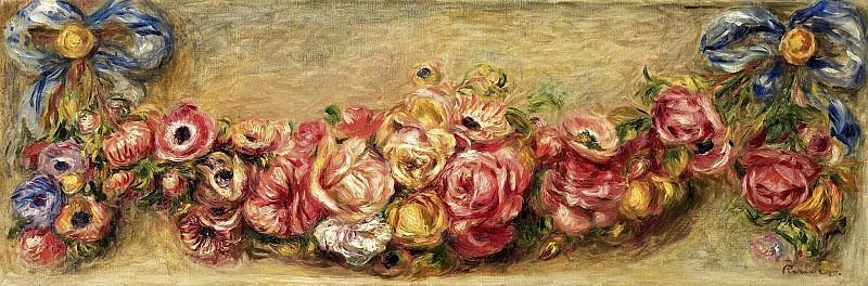 Pierre Auguste Renoir - Garland of Roses, 1910. Sotheby's