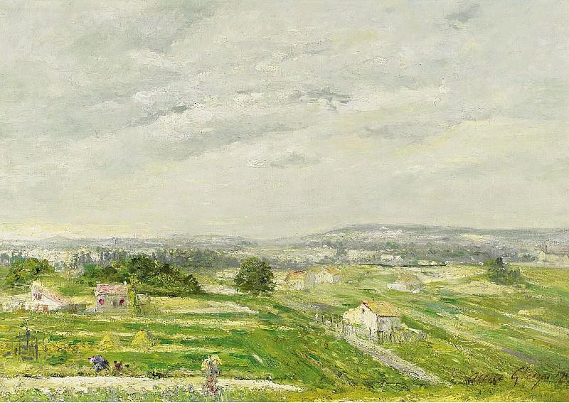 Albert Gleizes - Landscape on the Southwest of France, 1900s. Sotheby's