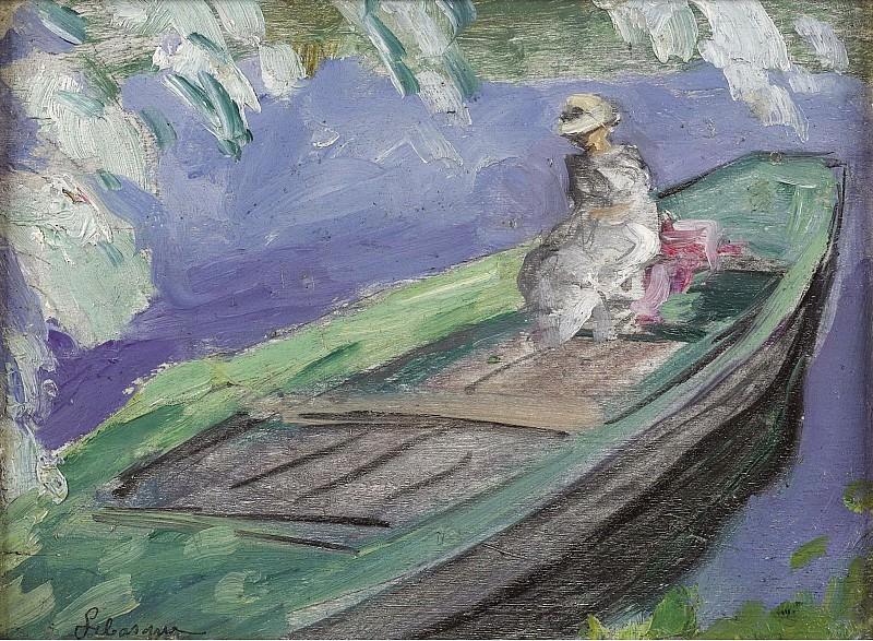 Henri Lebasque - Boating, 1914-15. Sotheby's
