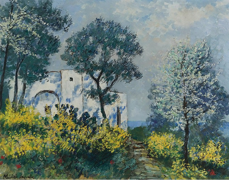 Michele Cascella - A House in Italy. Sotheby's