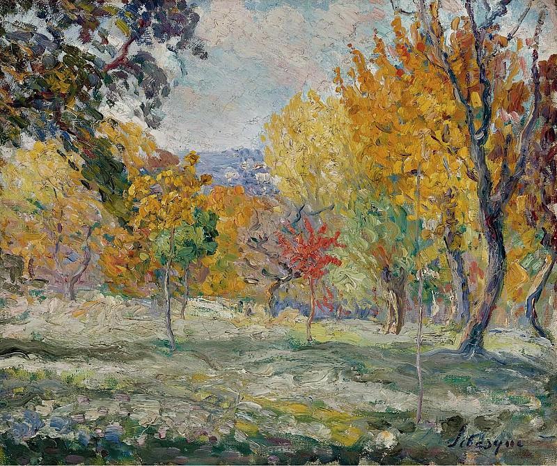 Henri Lebasque - Landscape with Trees, 1907. Sotheby's