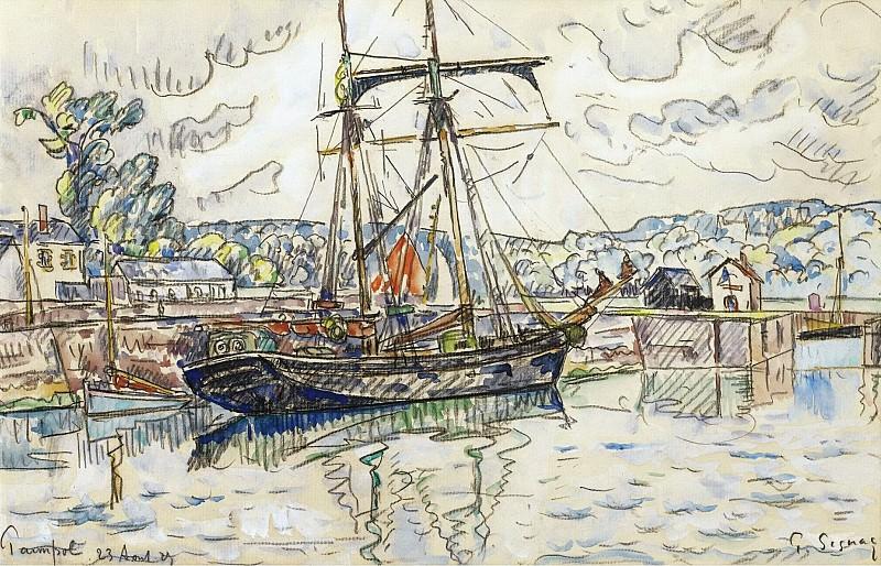 Paul Signac - Paimpol, 1927. Sotheby's