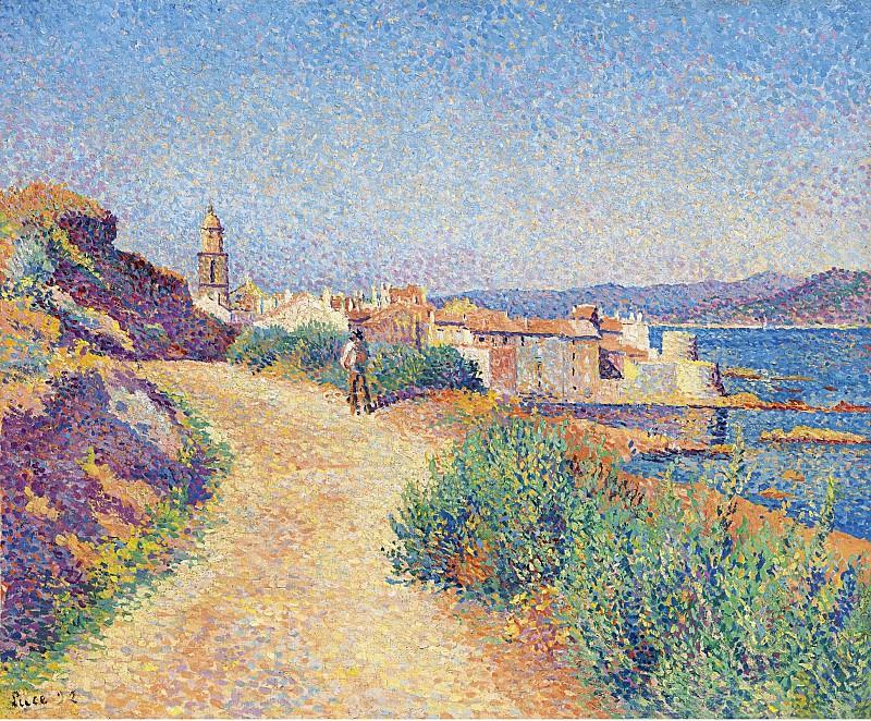 Maximilien Luce - Saint-Tropez, 1892. Sotheby's