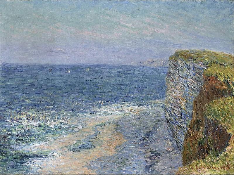 Gustave Loiseau - The Seascape at Etretat, 1901. Sotheby's