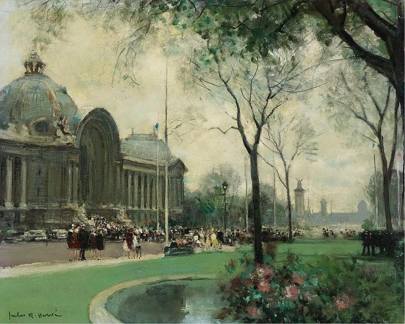 Jules Rene Herve - Le Petit Palais, Paris. Sotheby's