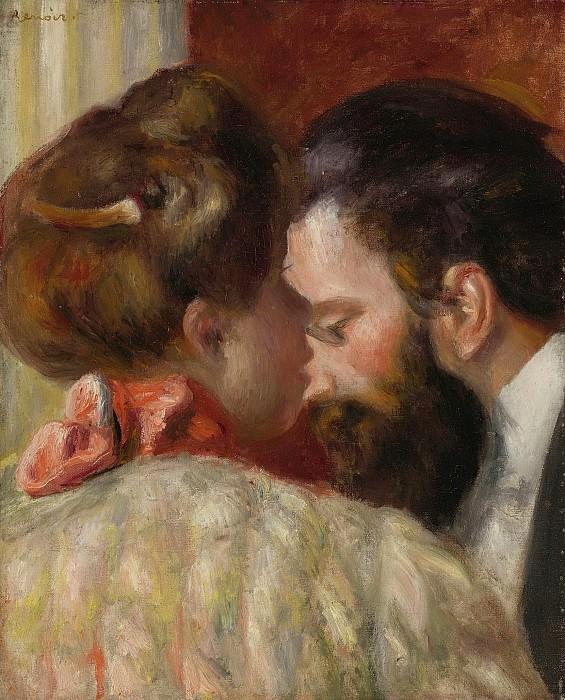 Pierre Auguste Renoir - Confidence, 1897. Sotheby's