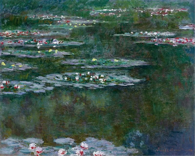 Claude Monet - The Waterlilies, 1904. Картины с аукционов Sotheby's