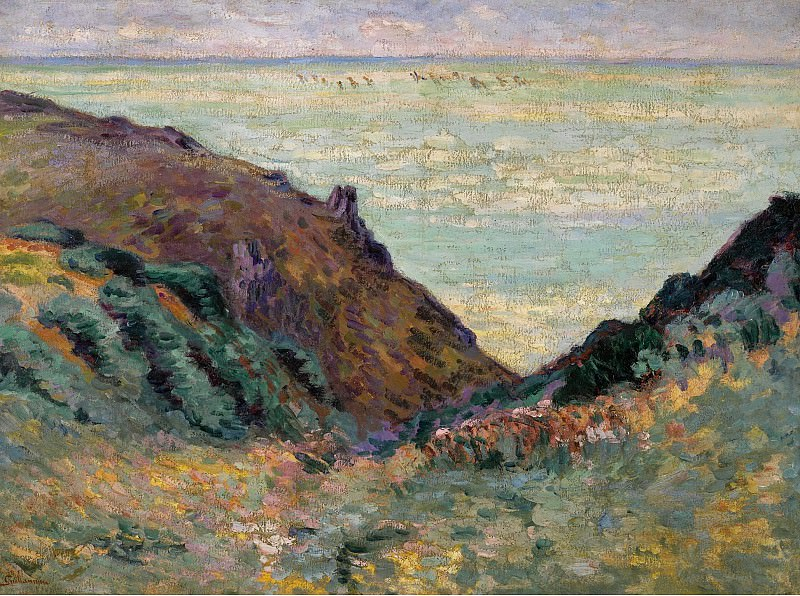 Armand Guillaumin - Les Carolles, 1900. Sotheby's