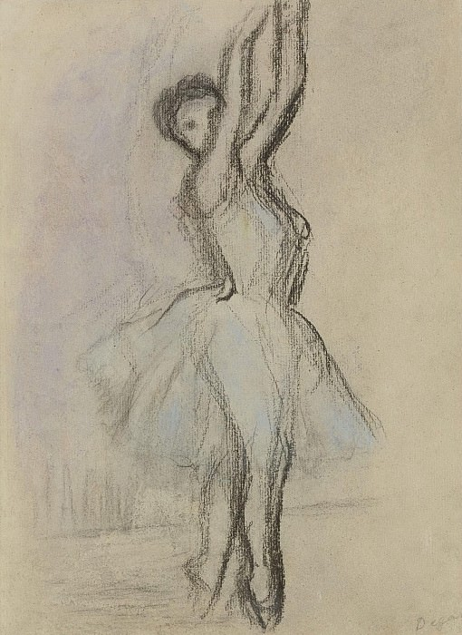 Edgar Degas - Dancer on the Points. Sotheby's