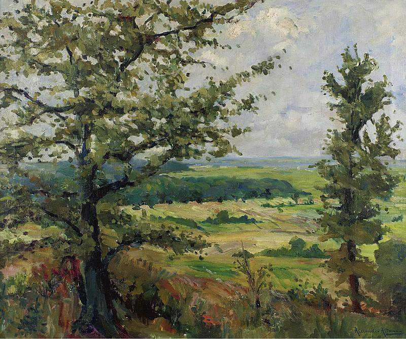 Alexander Altmann - Summer Landscape. Sotheby's