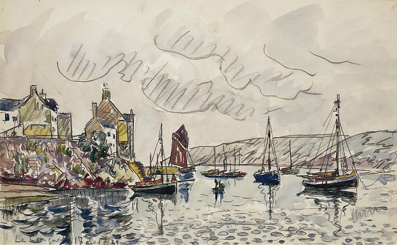 Paul Signac - Le Conquet, 1929. Sotheby's