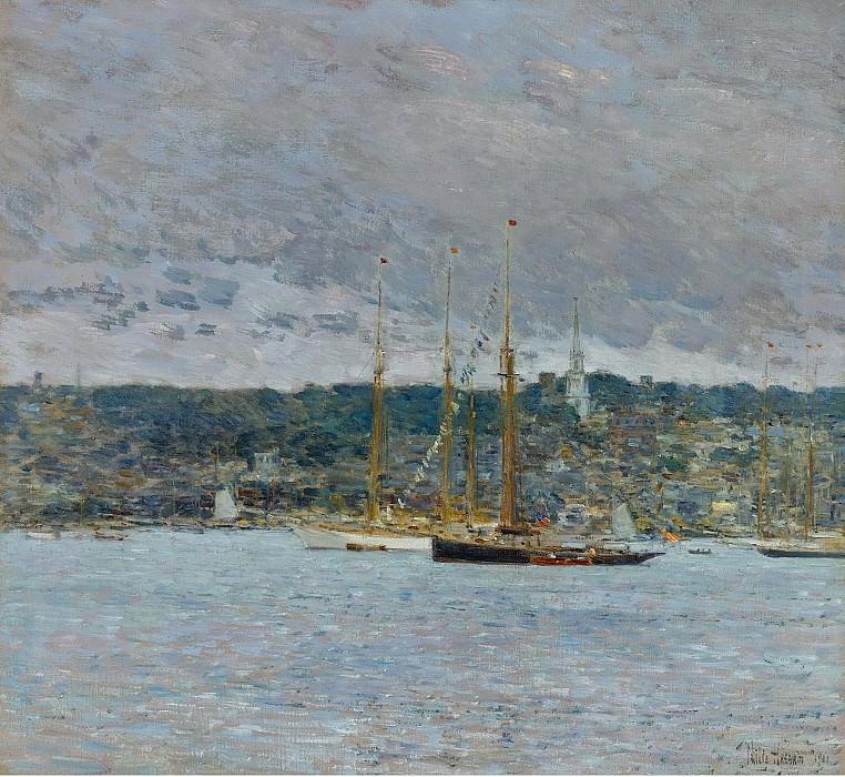 Frederick Childe Hassam - Newport, 1901. Sotheby's