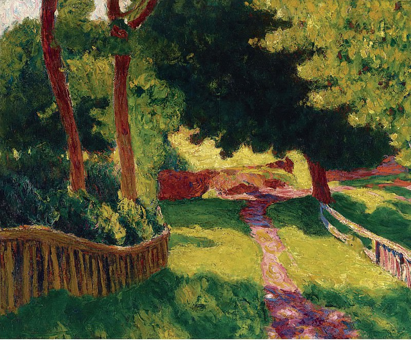 Roderic OConnor - Sunny Landscape. Картины с аукционов Sotheby's