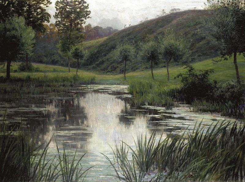 Rodolphe Wytsman - The Pond. Sotheby's