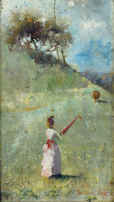 Charles Conder - The Fatal Colors, 1888. Sotheby's