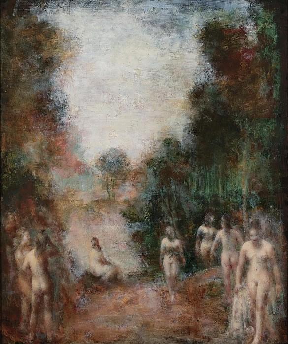 Grigory Gluckmann - Sylvan Fantasy. Картины с аукционов Sotheby's