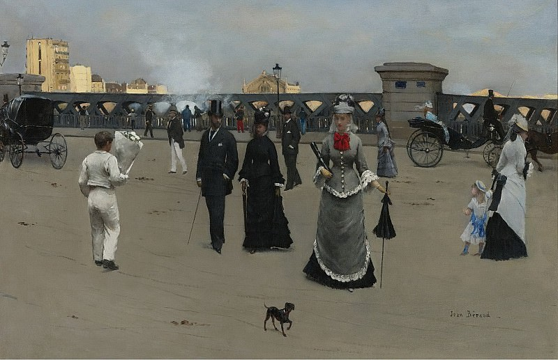 Jean Beraud - The Square of Europe. Sotheby's