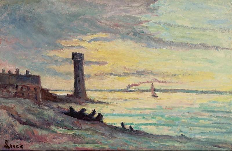 Люс, Максимильен - Honfleur, 1929. Картины с аукционов Sotheby's