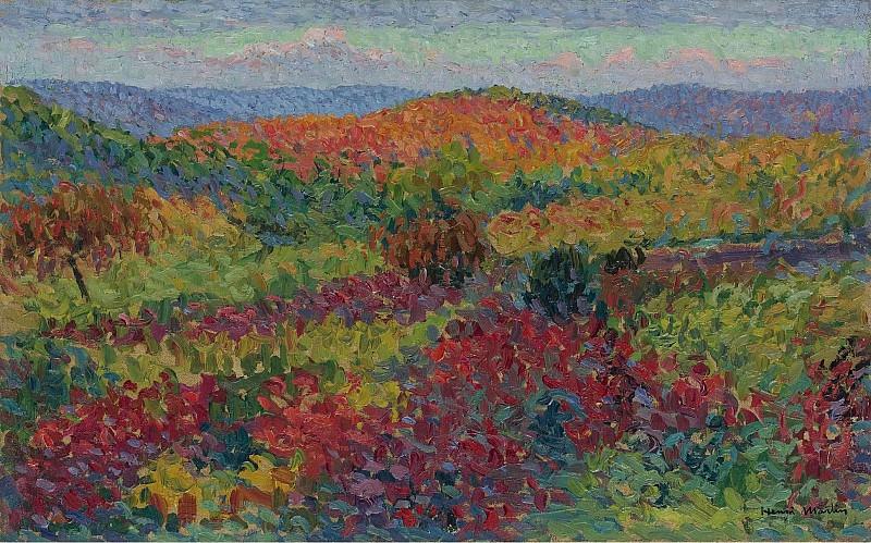 Henri Martin - Landscape. Sotheby's
