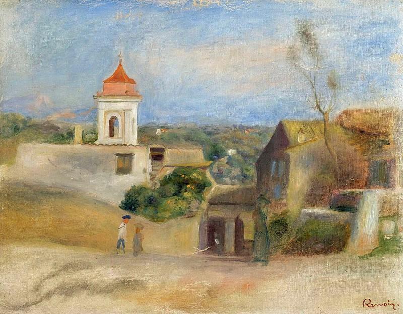 Pierre Auguste Renoir - Cagnes Landscape, 1899. Sotheby's